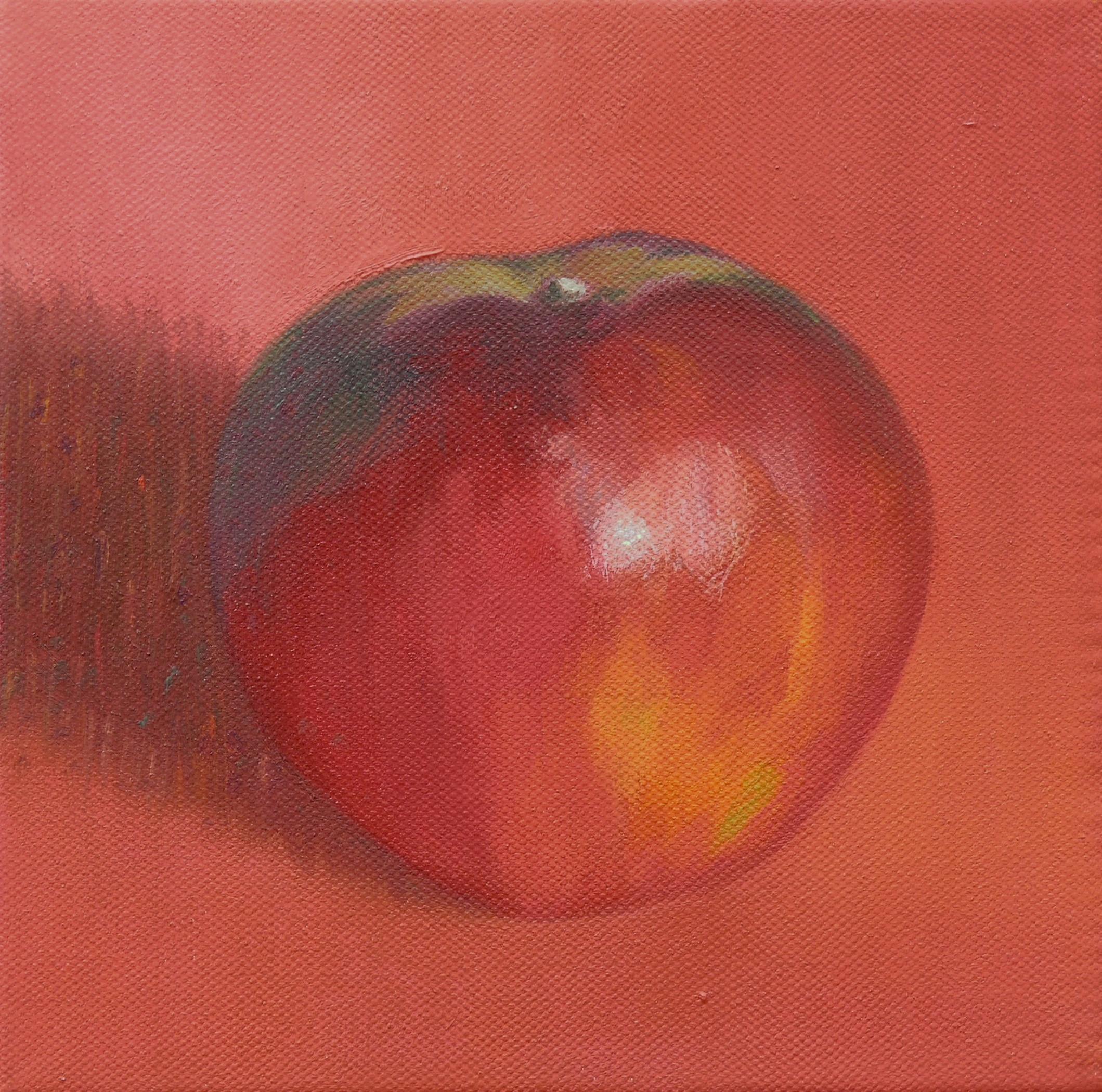 Dark red apple 1