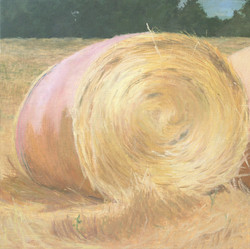 Pink haybale 3-Private Col.