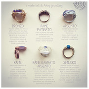 I materiali nei gioielli Artep