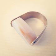 Corniola reversibile: l'anello e ora gli orecchini...reversibili!