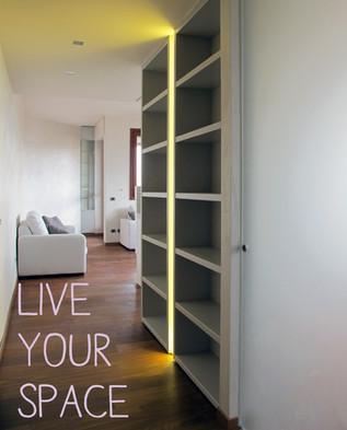 Vivi il tuo spazio, progetta la tua casa.