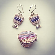 Pottery and wire design Artep Jewellery