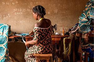 Changer de vie - une couturière à Zouhoudji