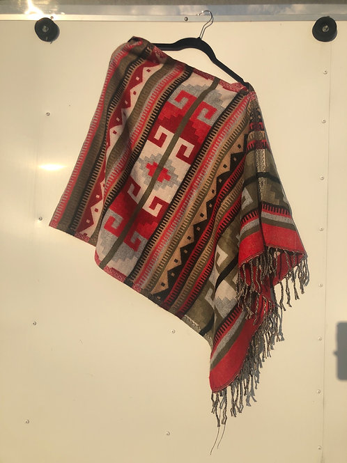 Thicker Red/White Navajo