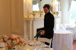 Kieran preparing the toast!