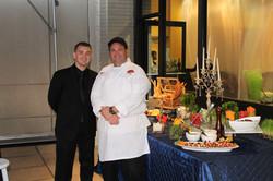 Cameron & Chef Gianinni