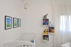 חדר תינוק בדירת זוג צעיר