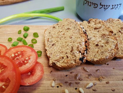 לחם יוגורט זריז ללא גלוטן