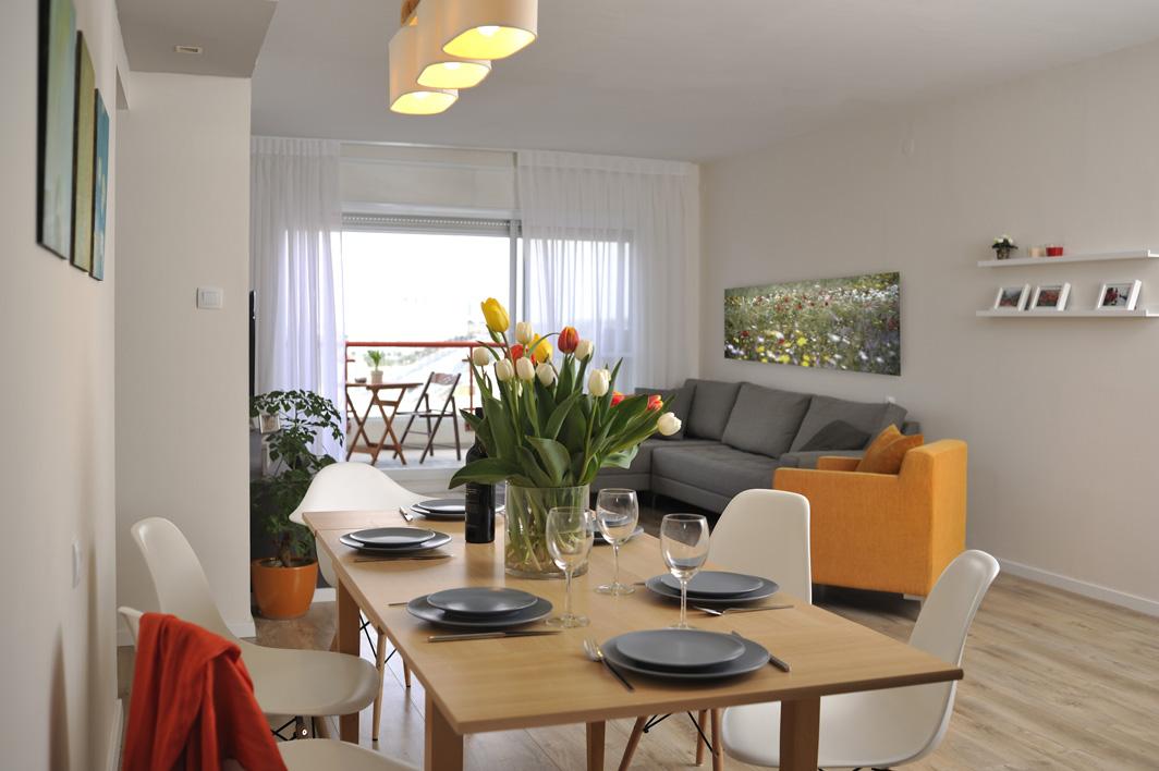 עיצוב דירת זוג צעיר