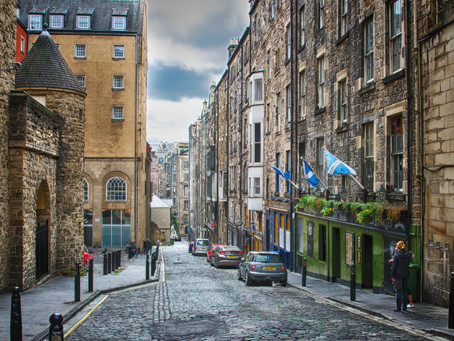 The Cobbles of Edinburgh, Scotland