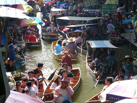 The Floating Markets of Bangkok, Thailand