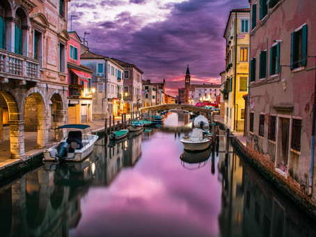 Floating Venice, Italy