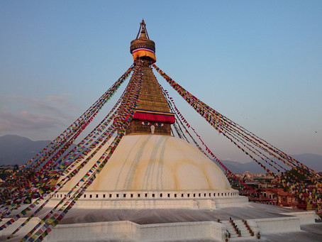 The Mysterious Stupa of Boudha, Nepal