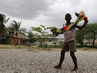 Around the corner: Christmas Cheer for our Haitian family