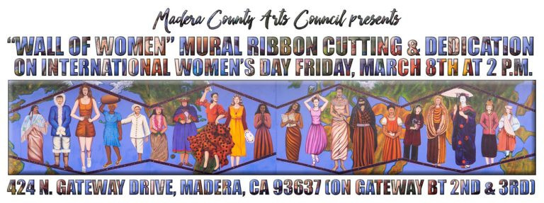 Restoration of Valley State Women's Prison Mural, Madera County Arts Council at Circle Gallery. 2018