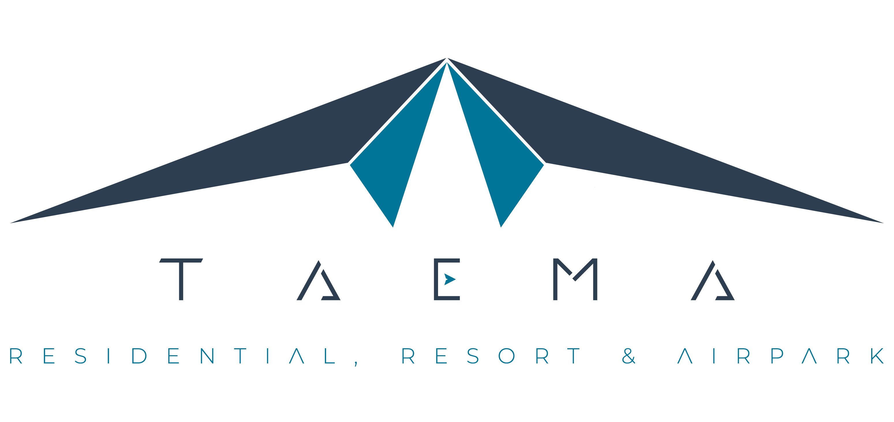 TAEMA RESIDENTIAL RESORT AIRPARK LOGO FU