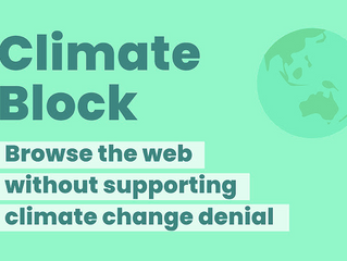Climate Block is live