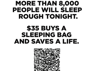 Sleeping Bags for Homelessness Campaign