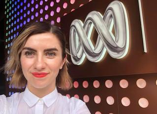 Nevena Spirovska (me!) live on ABC Radio
