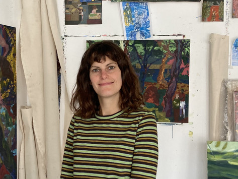 The Art Five, Issue 20, with Artist, Kathryn Maple