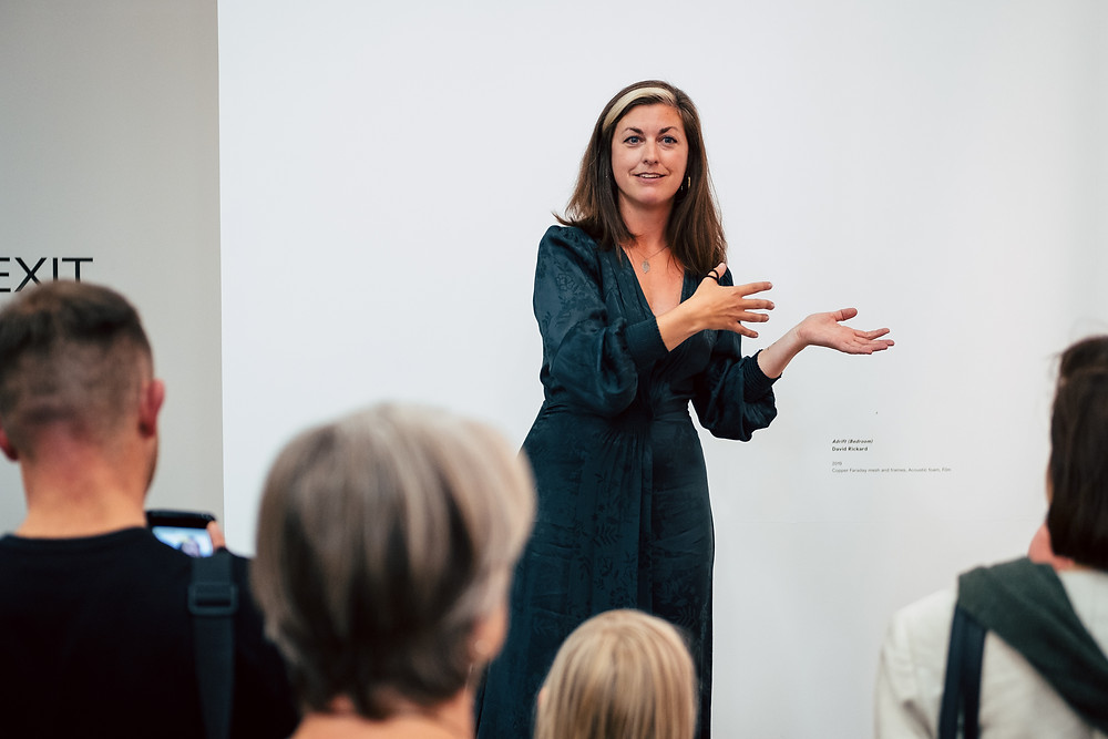 Curator Becca Pelly-Fry