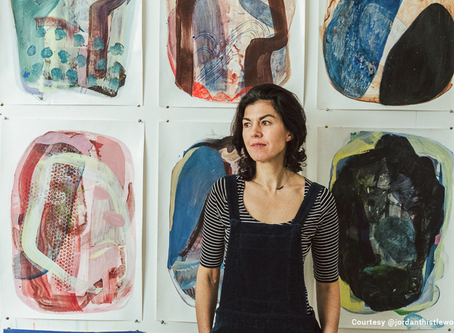 THE ART FIVE, Issue 5, with Artist, Justine Formentelli