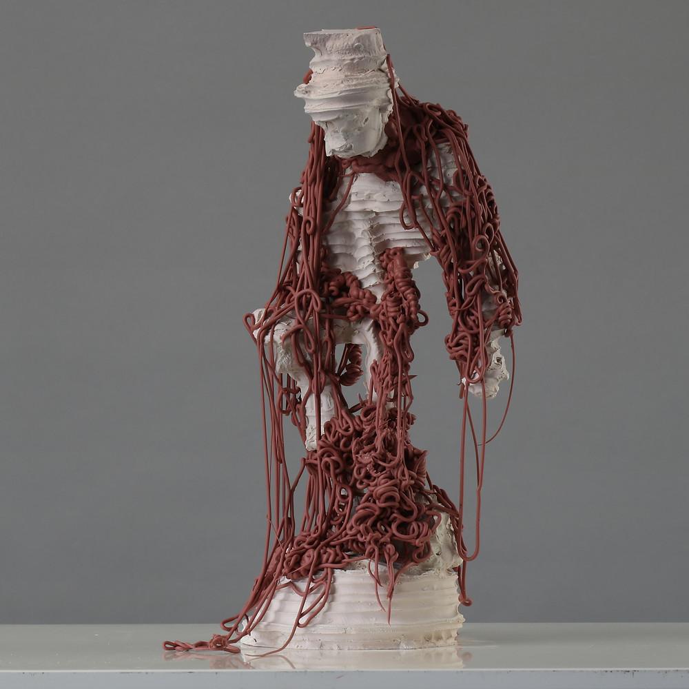 James Rogers clay sculpture