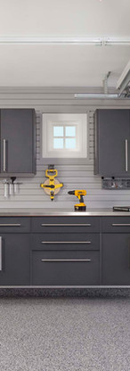 Granite Workbench + Stainless Counter