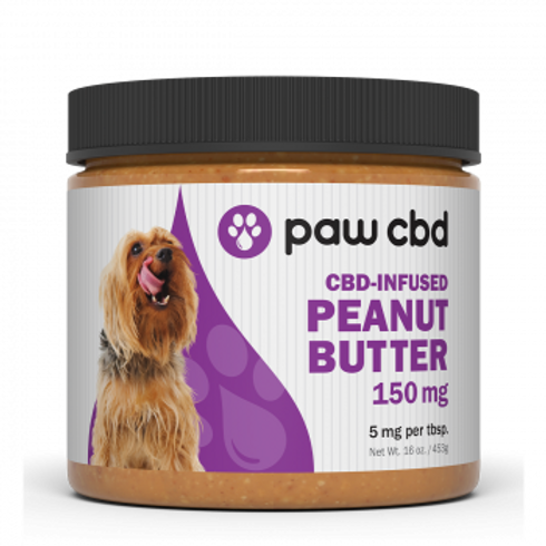 Pet CBD Peanut Butter for Dogs  150 mg - 16 oz