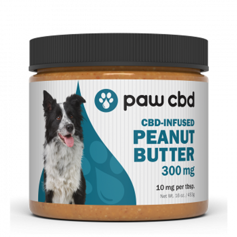 Pet CBD Peanut Butter for Dogs  300 mg - 16 oz