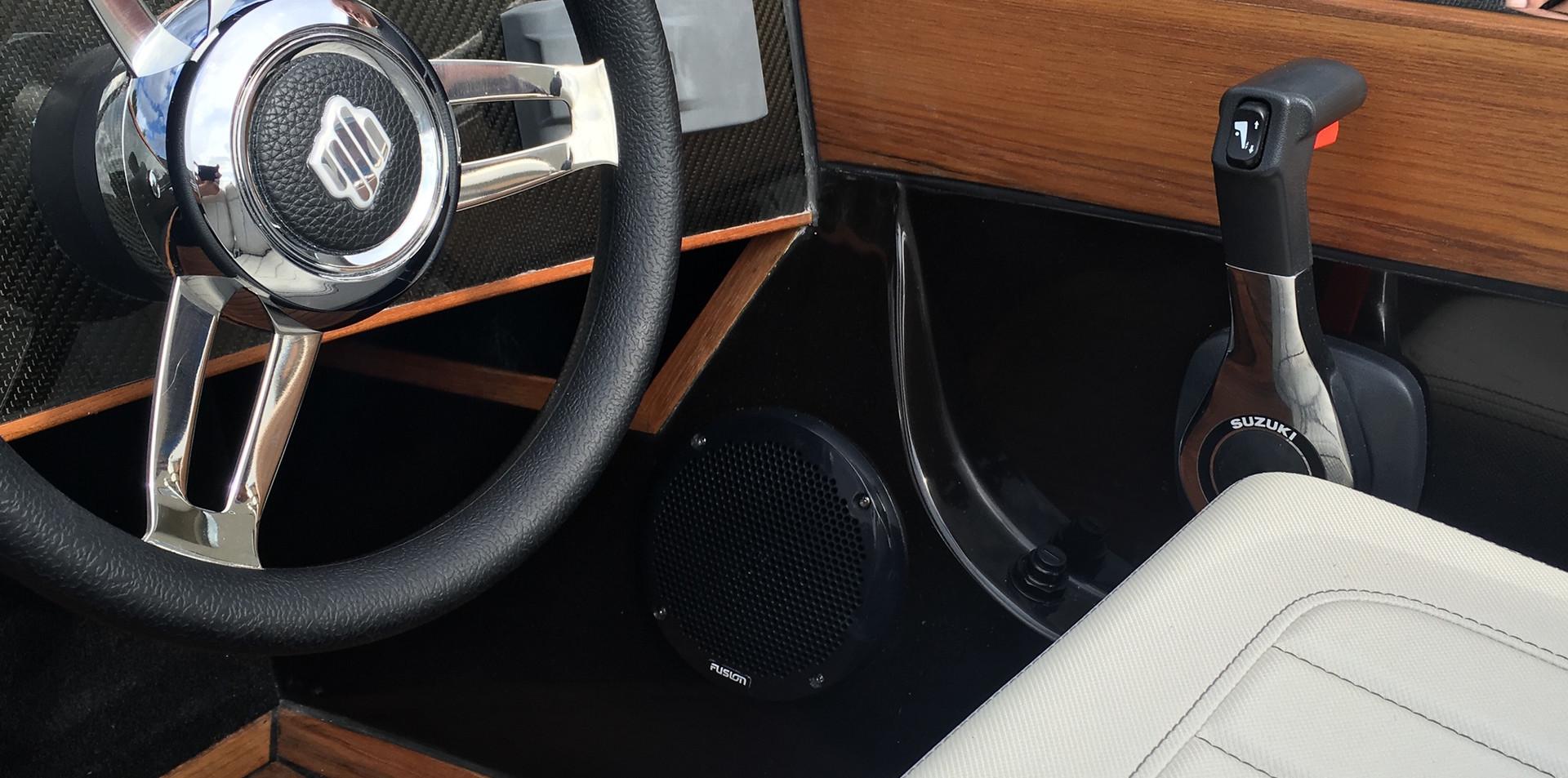 "Flying Shark 4.2 Classic ""Deluxe"" - speakers"