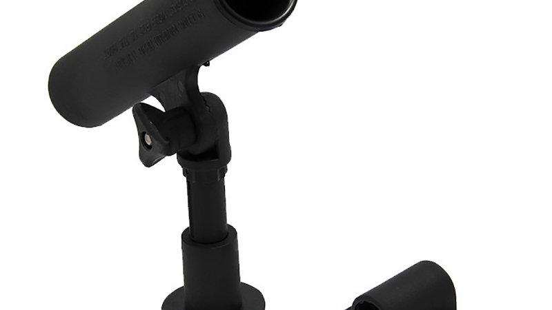 Rod holder black - rotating