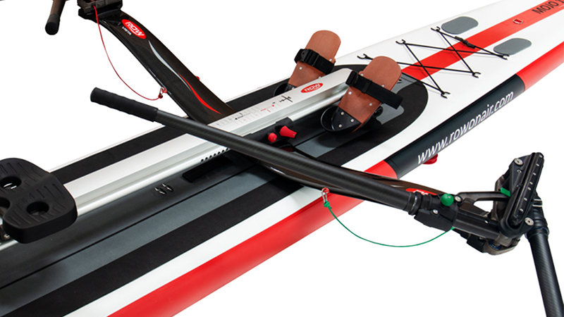 RowVista® sculls + RV Rowing Skid F