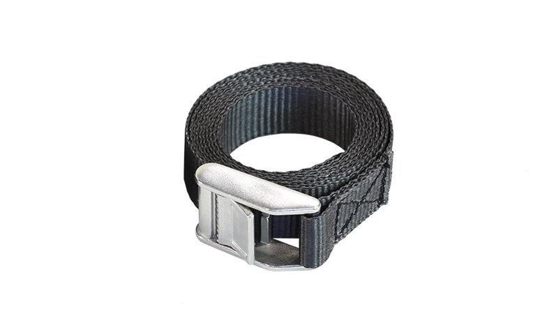 Bracelet noir 25 mm x 2 m (2 pièces)