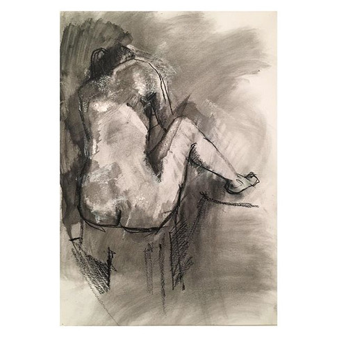 18min charcoal, wash and lots of eraser work. Drawing with an eraser is one of my favorite techniques. Pose by _violet.jpg