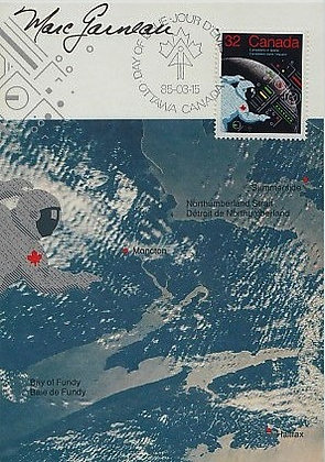 NASA ASTRONAUT Marc Garneau