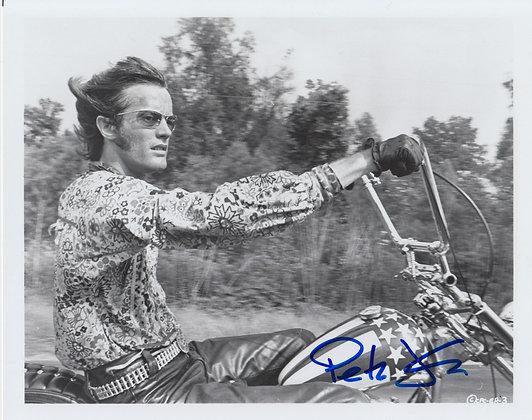 PETER FONDA Signed Photo