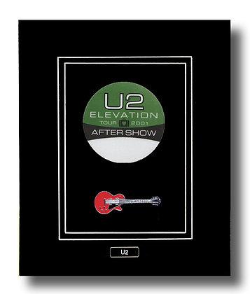 U2 Original 2001 Concert Backstage Pass (62638)