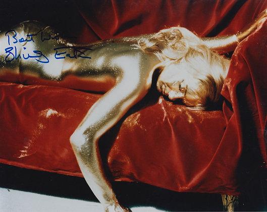 SHIRLEY EATON Signed 007 Photo
