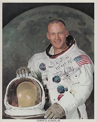 MOONWALKER! Buzz Aldrin