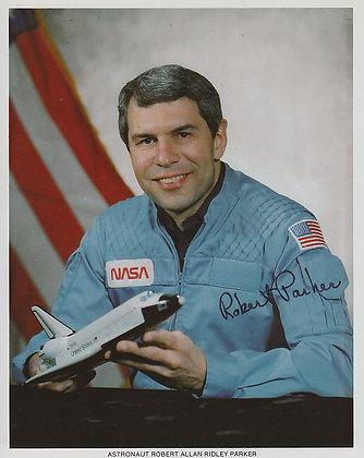 NASA ASTRONAUT Robert Parker