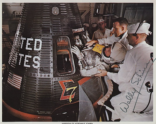 NASA ASTRONAUT Wally Schirra