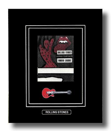 Rolling Stones Original Concert Pass (62622)