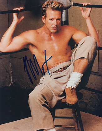 MICKEY ROURKE Signed Photo