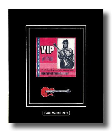 Paul McCartney Original 1980 Concert Pass (62661)
