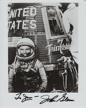 NASA ASTRONAUT John Glenn