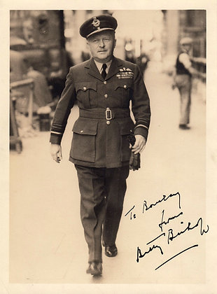 BILLY BISHOP VC Signed Photo