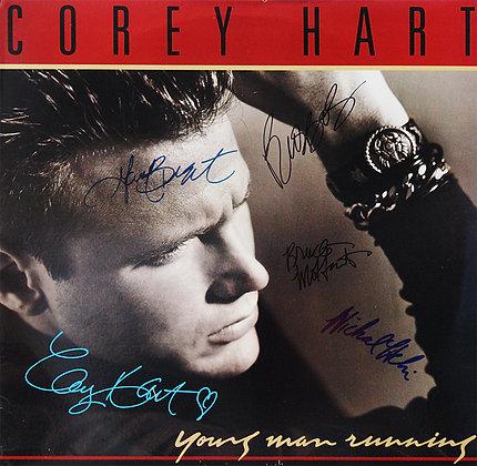 COREY HART Band Signed LP Sleeve
