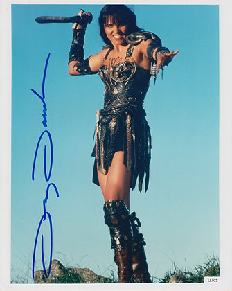 LUCY LAWLESS Signed Photo