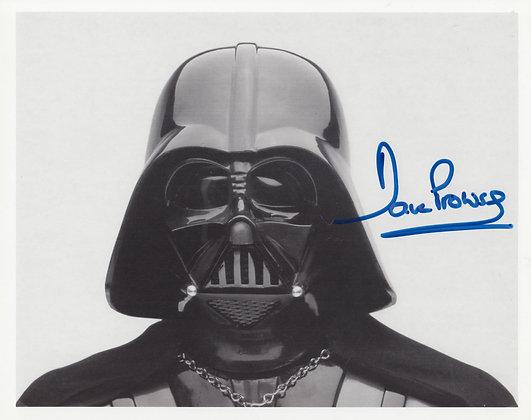 DAVID PROWSE Signed Photo